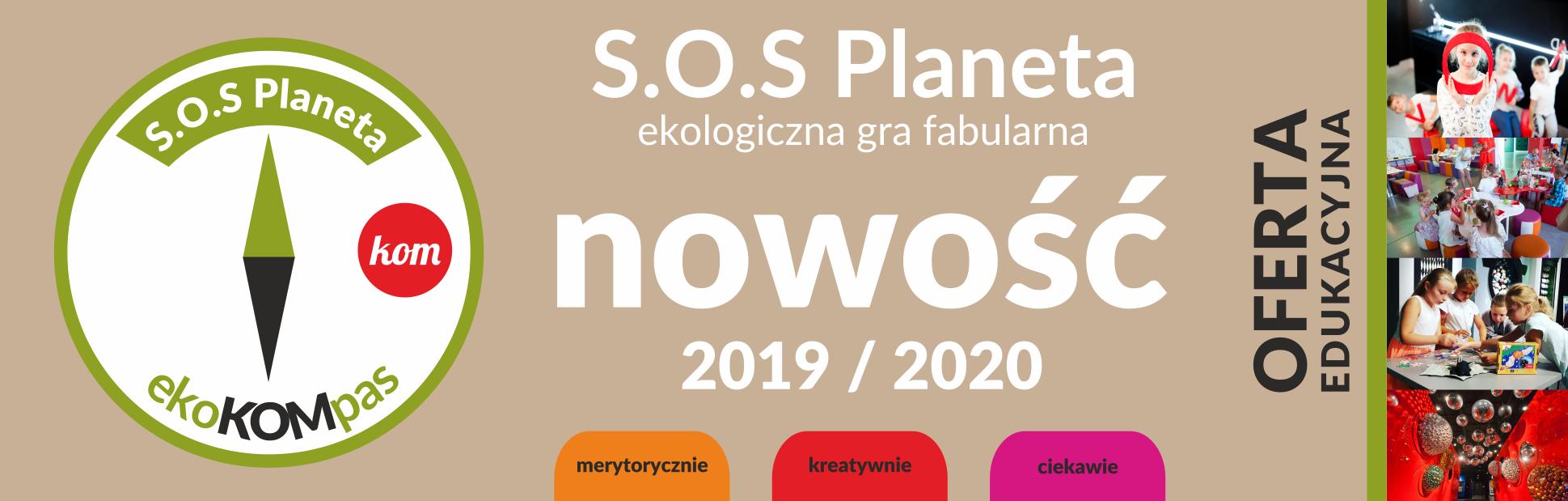 slider nowego progamu edukacyjnego - SOS Planeta